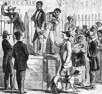 1g Slave Auction. New York Illustrated News; January 26, 1861, p. 177.