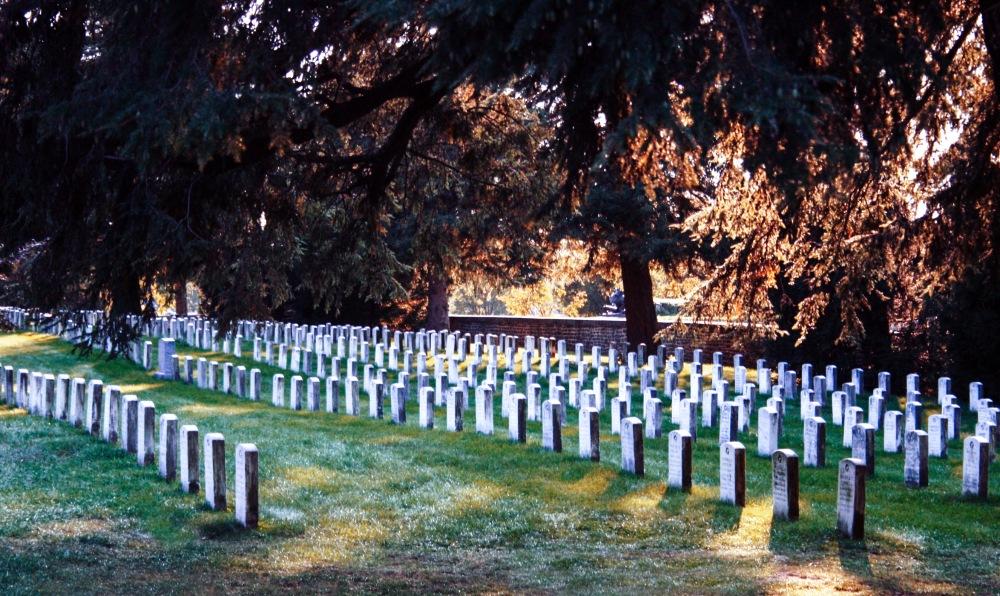 Gravestones Gettysburg